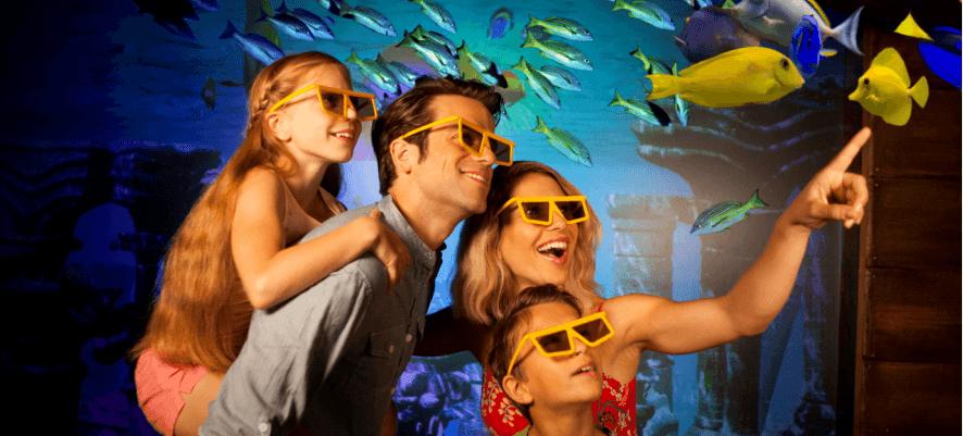 Virtuelle Fische
