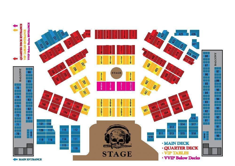 pirates qd seating area price