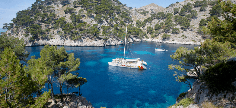 catamaran to formentor from alcudia