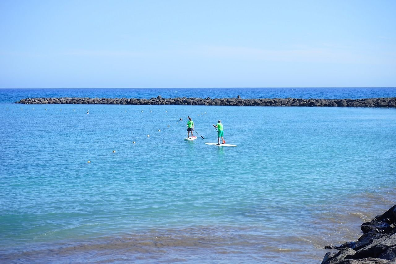 Stand-up paddle course in Pollensa