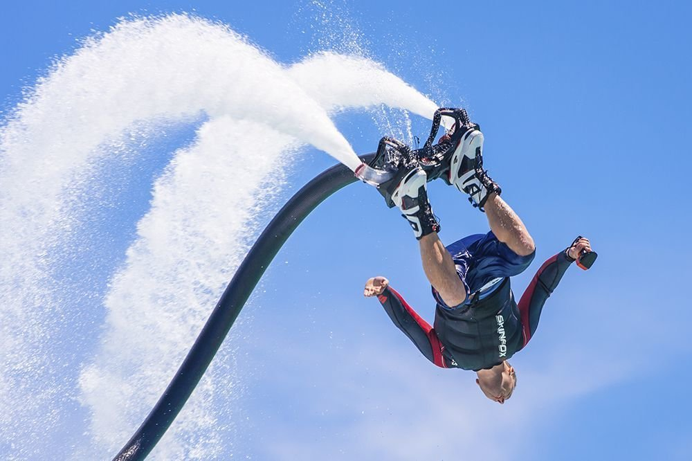 excursions in mallorca: flyboard 30 min